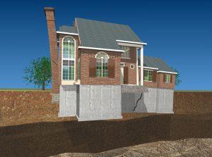 foundation repair settlement