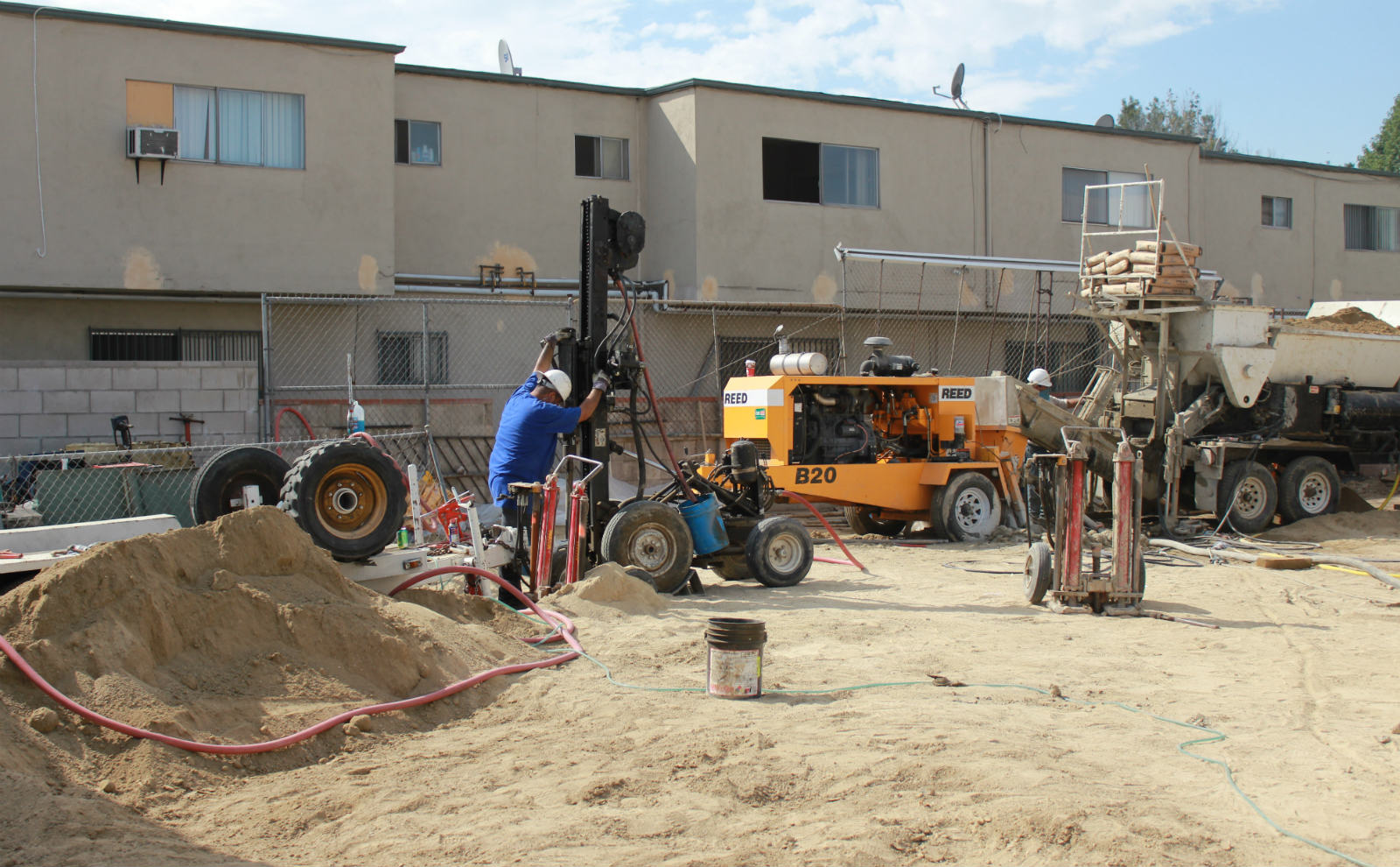 Geotechnical Stabilization Foundation Repair Soil Compaction