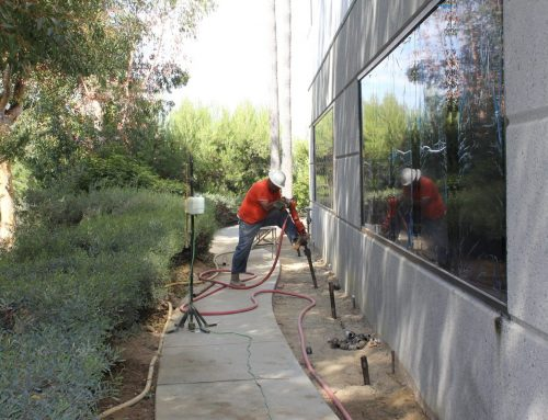 Compaction Grouting for Desification and Lifting of a Tilt up Building Carlsbad California