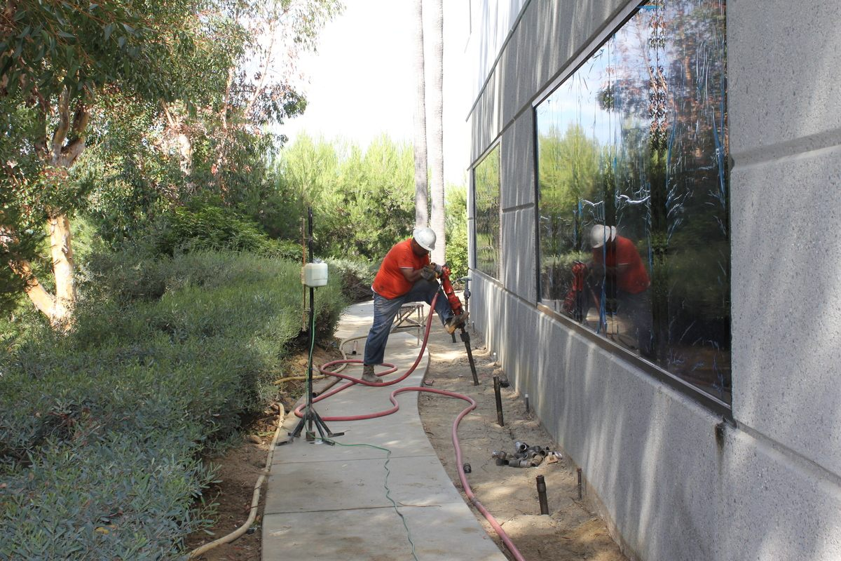Compaction-Grouting-for-Desification-and-Lifting-of-a-Tilt-up-Building-Carlsbad-California