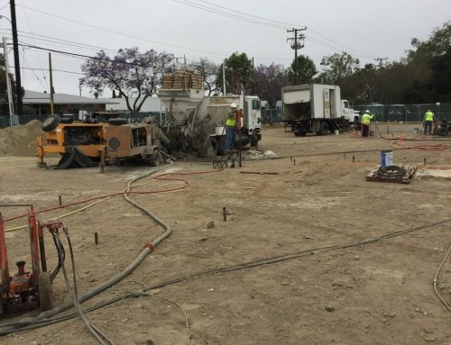Compaction Grouting for Mitigating Liquefaction for New School Building Santa Ana California